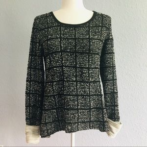 2/$10! Altar'd State Black Long Sleeve Sweater S